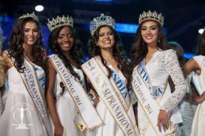 MISS SUPRANATIONAL 2014 : India, Asha Bhat 1st runner-up: Thailand, Parapadsorn Disdamrong 2nd runner-up: Gabon, Maggaly Nguema 3rd runner-up: USA, Allyn Rose 4th runner-up: Poland, Katarzyna Krzeszowska